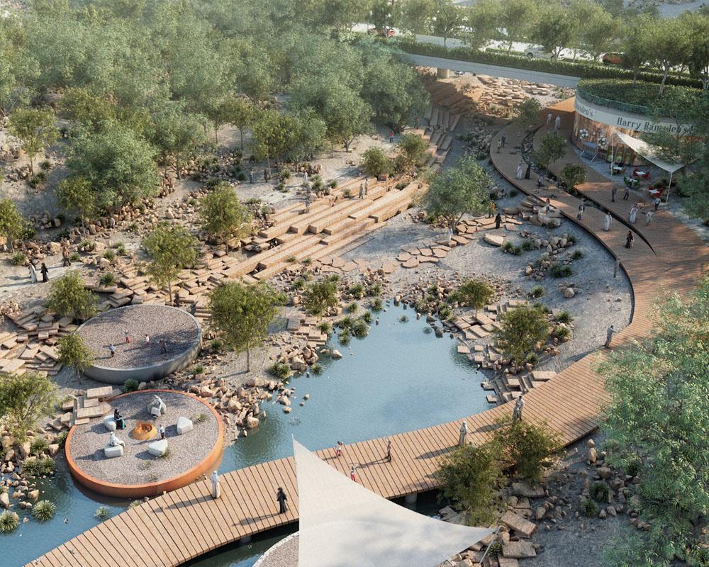 Desert Landscape Sustainable Design