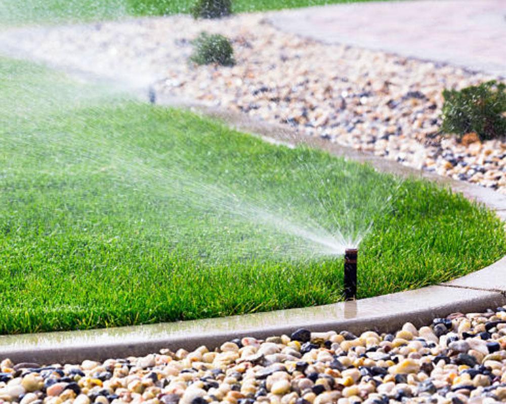 Irrigation by Desert Landscape