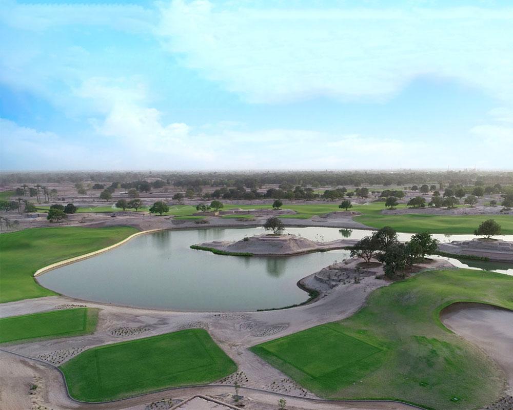 Rumanza Golf Course by Desert Landscape